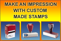 custom made stamps